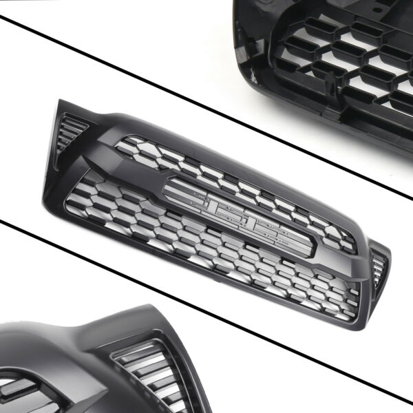 Front Bumper Grilles Grill For Tacoma 2005 2006 2007 2008 2009 2010 2011