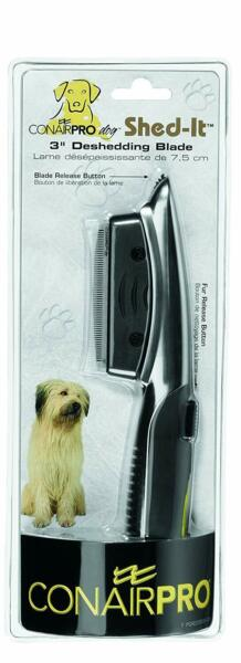 Conair Pro DOG Shed It 3quot; Deshedding Blade conairpro Grooming Tool NEW $14.99