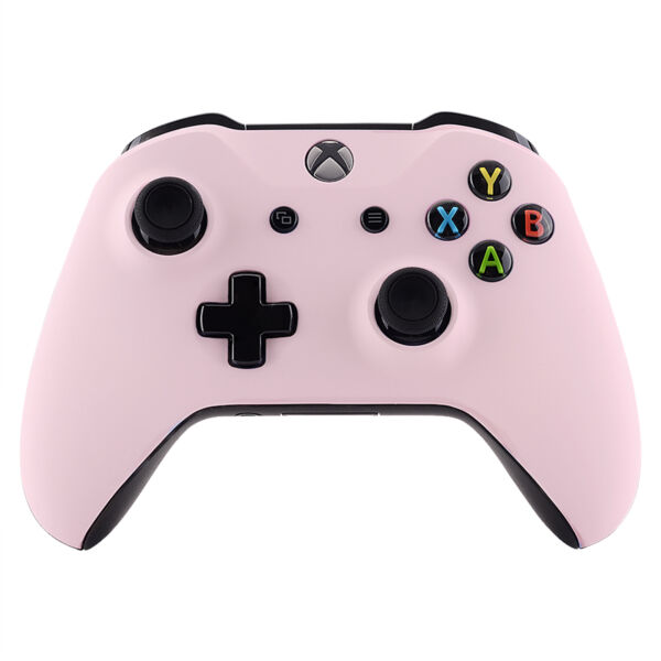 Sakura Pink Soft Touch Faceplate Top Cover for Xbox One X S Controller (1708)