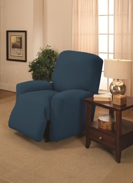COBALT SLIPCOVERS FOR RECLINER SOFA COUCH LOVESEATCHAIR FITTED XX $45.99