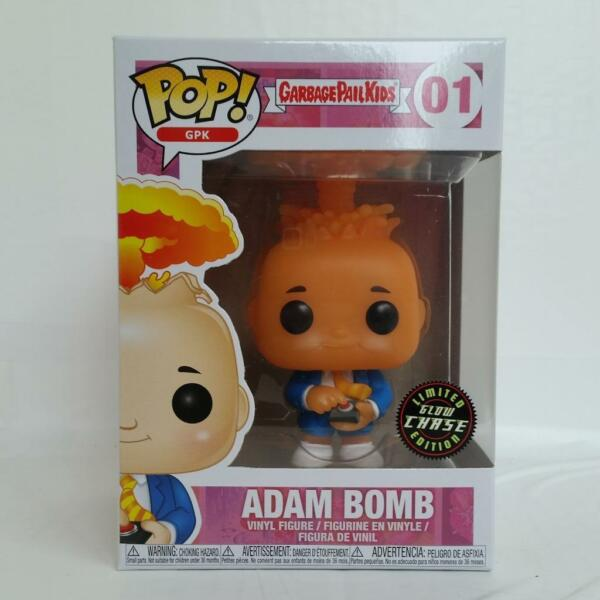 New Chase Glow Variant Funko Pop Adam Bomb Garbage Pail Kids Vinyl Toy Figure 01