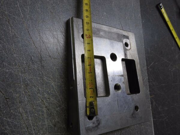 Aftermarket deluxe sliding motor mount plate drilled for Rotax or Iame