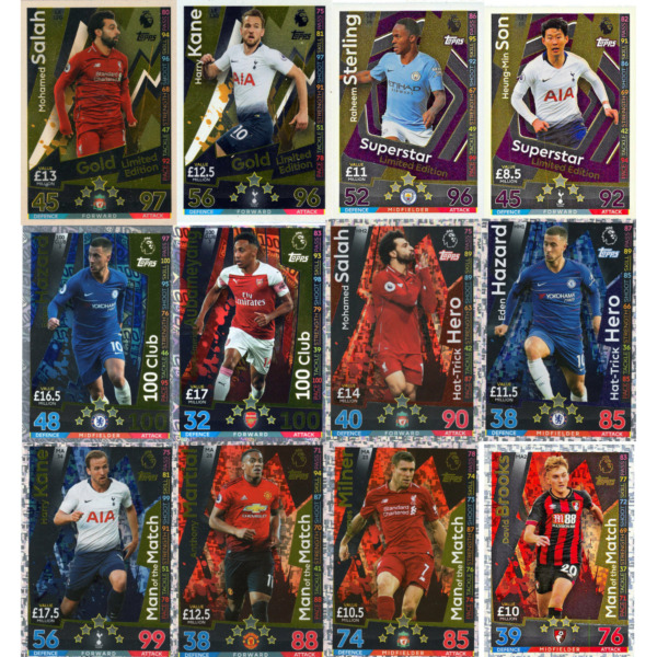 MATCH ATTAX EXTRA 201819 1819 LE 100 CLUB HTH MAN OF THE MATCH 2+1 FREE!