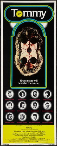 Tommy 14x36 Insert Movie Poster The Who Replica $15.49