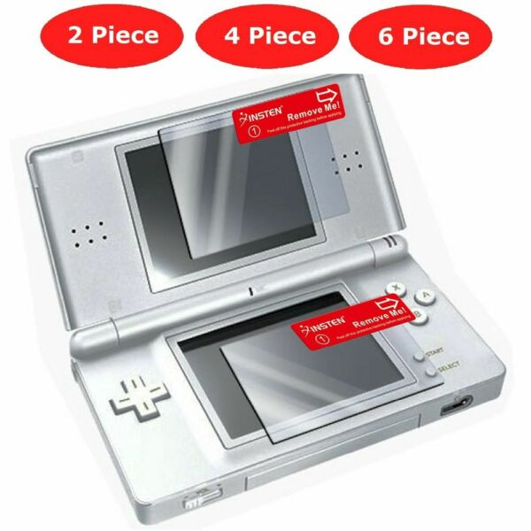 Clear LCD Screen Protector Guard Film Cover For Nintendo DS Lite