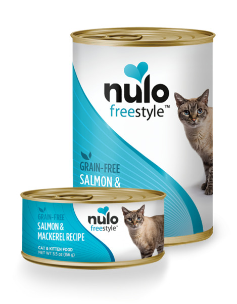 Nulo FreeStyle Grain Free Salmon & Mackerel Recipe Canned Cat Food