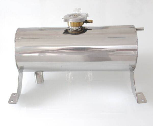 Stainless Steel Polished Replica Kit Cars Cobra Water Expansion Reservoir Tank $169.99