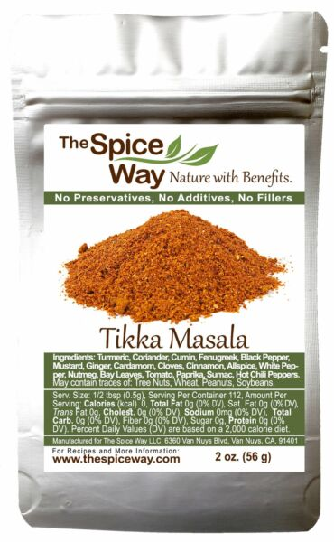 The Spice Way Tikka Masala - An Indian Seasoning Mix for Meat 2 oz
