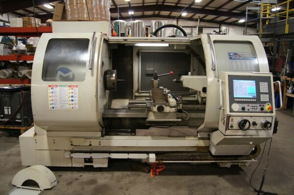 USED MILLTRONICS ML-2640 CNC TEACH LATHE 2008 12