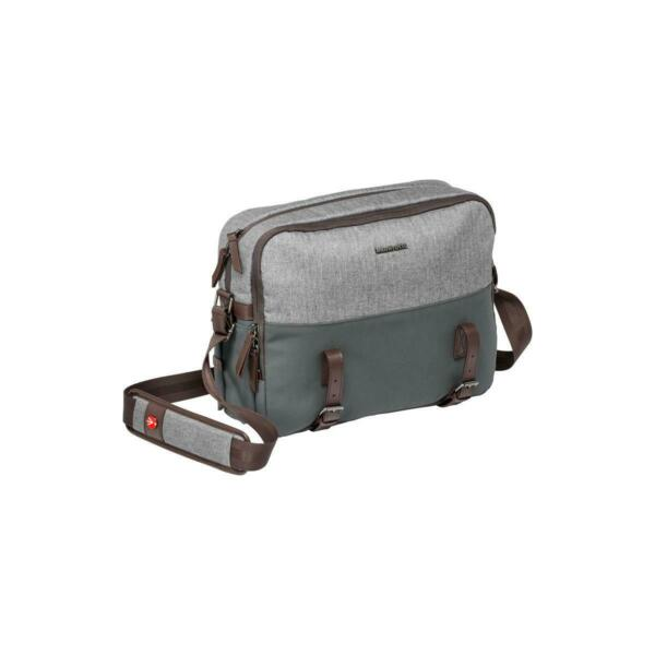 Manfrotto Lifestyle Windsor Reporter Bag for DSLR Camera, Gray #MB LF-WN-RP