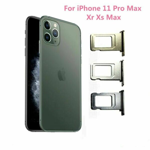 Single SIM Card Socket Holder Tray Slot Module for Iphone XR XS Max 11 Pro Max