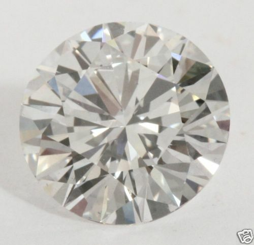 5 ct GIA G VVS2 natural round loose diamond engagement solitaire ring 18k