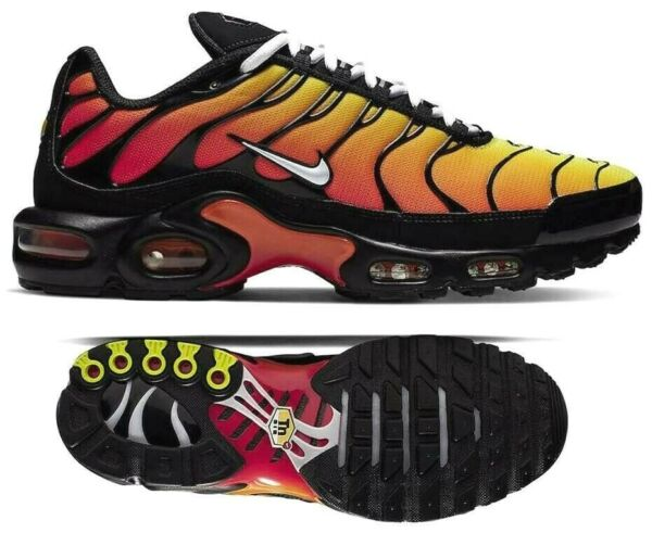 New NIKE Air Max Plus TN Men's Sneakers black gray red all sizes