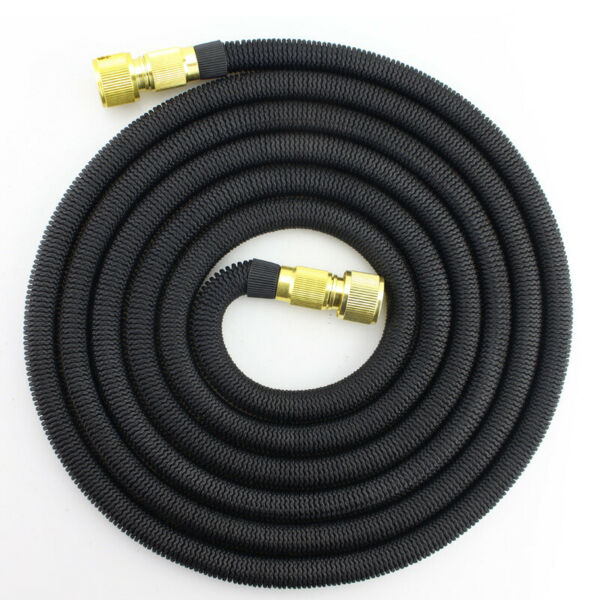 3X Stronger Deluxe Expandable Flexible Garden Water Hose Car Wash 25ft-50ft