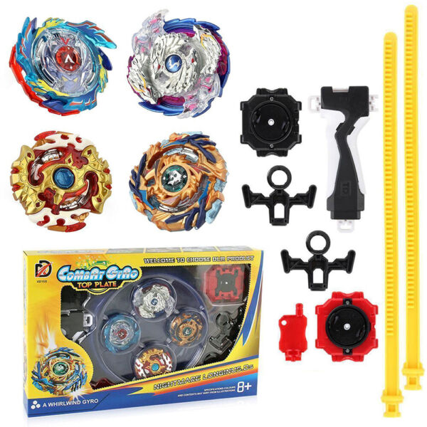 4x Boxed Beyblade Bayblade Burst Set With Launcher Arena Metal Fight Battle US B