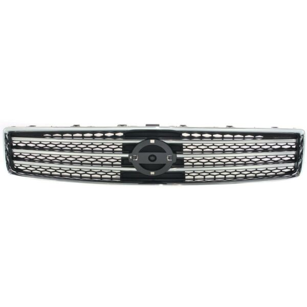 Grille Assembly Front Bright Chrome amp; Dark Gray for 09 11 Nissan Maxima New $47.80