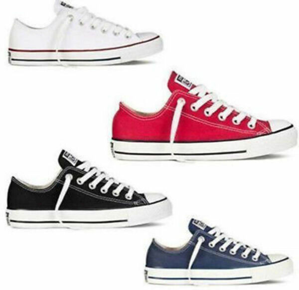 NEW WomensMens ALL-STARs Chuck Taylor Ox Low-Top shoes casual Canvas Sneaker A6