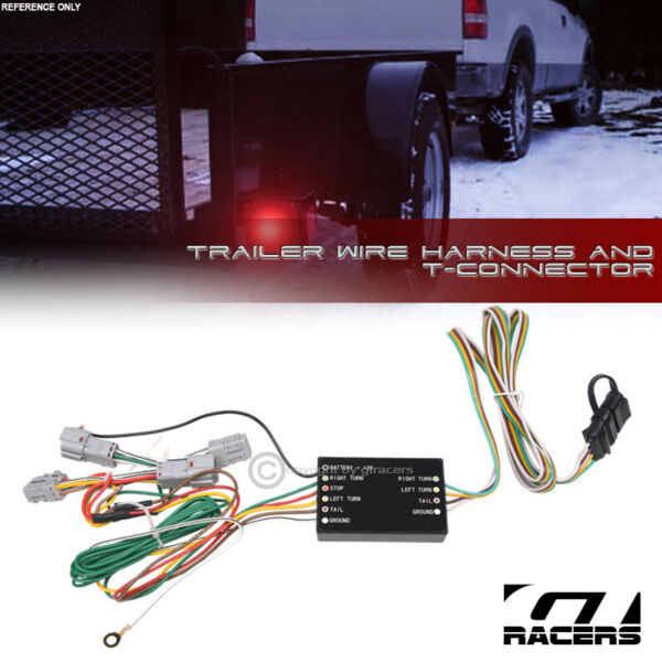 For 2010 2017 Hyundai Tucson Trailer Hitch 4 Way Output Wire Harness T Connector $38.00