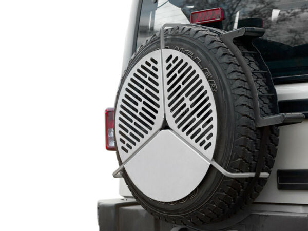 Spare Tire Mount Braai BBQ Grate by Front Runner
