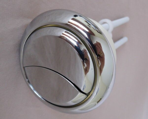 NuFlush Top Lid Dual Flush Button 48 mm Measure the Button Hole in Tank lid.