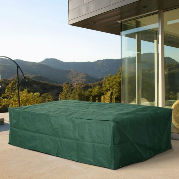 Outsunny Waterproof Patio Furniture Cover Outdoor Table Chairs Bench Sofa Cover $34.99