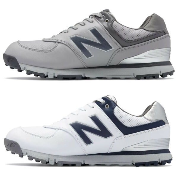 New Balance NBG574SL Men's Spikeless Microfiber Leather Golf Shoe  New