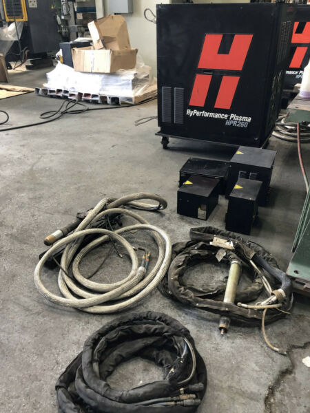 Hypertherm HPR 260 W Extras Burn Table Parts