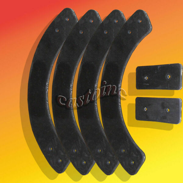 Snow Blower Paddle Set For MTD 21quot; Single Stage Snow Throwers Width: 1 7 8quot;