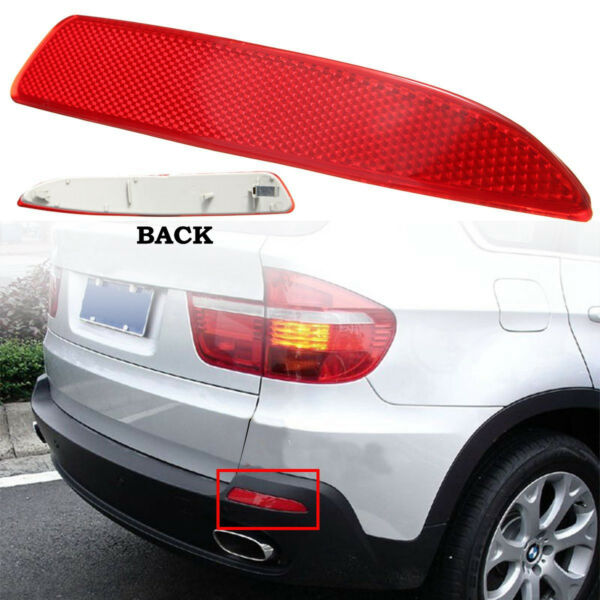 Red Rear Bumper Reflector Lens Right Side For BMW X5 E70 2007-13 63217158950