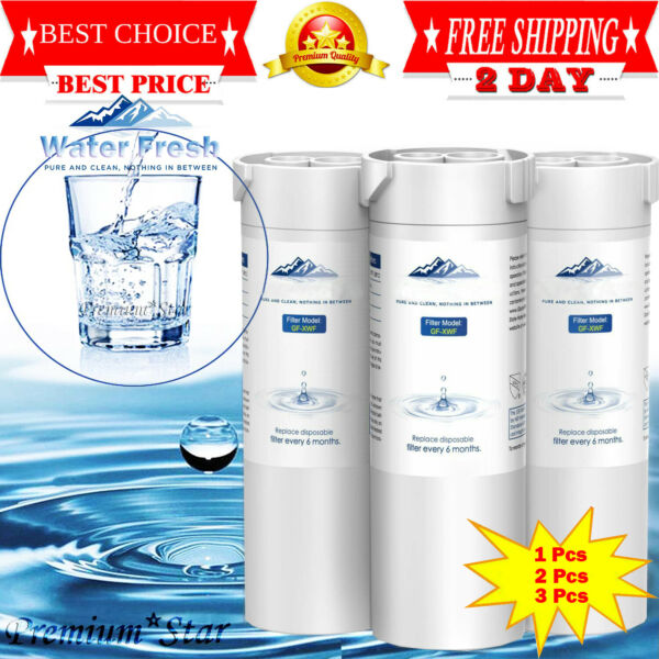 Refrigerator Water Filter Replacement For GE XWF Pack GLACIER FRESH XWF 123