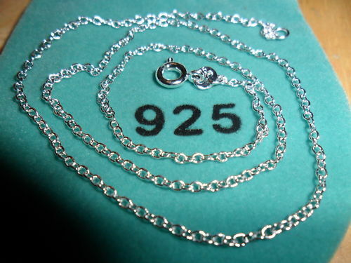 1.2mm 18 in Sterling Silver Plated O Chain  Necklace (BT2548)