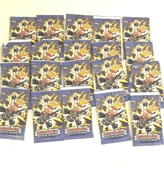 2017 TOPPS GARBAGE PAIL KIDS BATTLE OF THE BANDS  PACKS ( 20 PACK LOT )