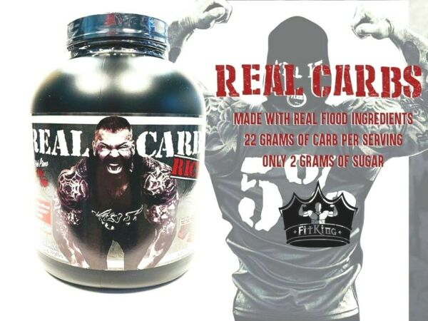 5% Nutrition REAL CARBS Complex Food Carbohydrates 4 lb 60 Servings PICK FLAVOR $56.99