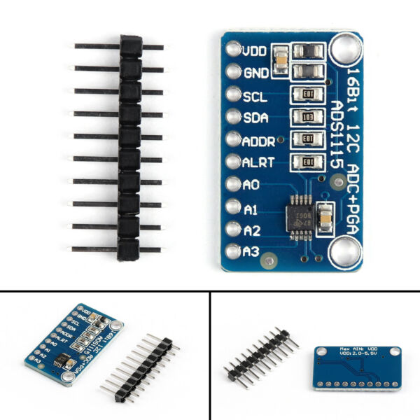 1X CJMCU-ADS1115 16Bit ADC Analog Digital Converter Development Board Module AT2