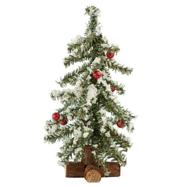 Factory Direct Craft Frosted Artificial Canadian Pine Tree