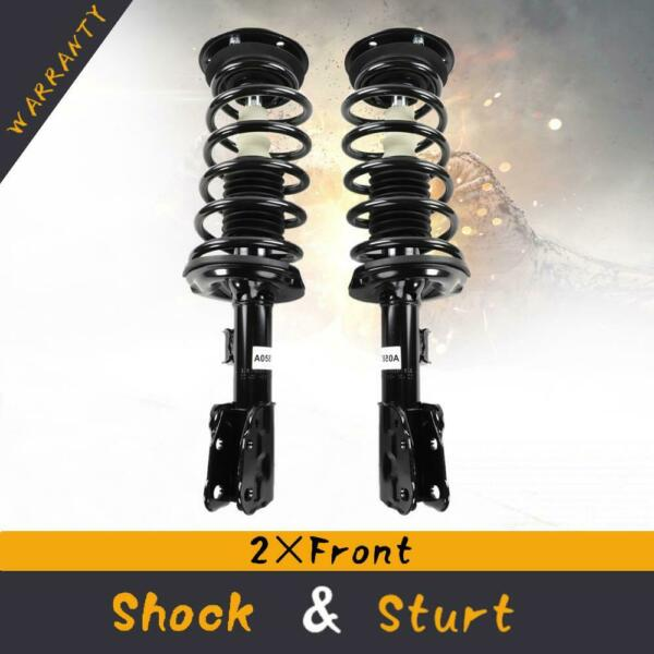 Pair (2) of Front Complete Strut Assemblies For 07-10 Chevrolet Equinox