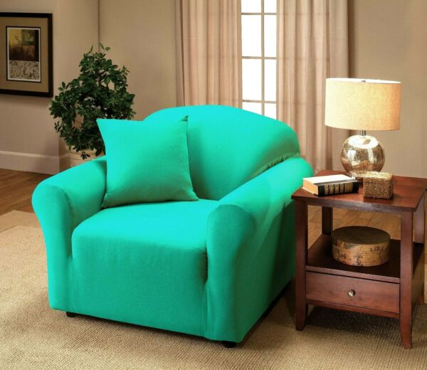 JERSEY FURNITURE SLIPCOVERS FOR CHAIR SOFA COUCH LOVESEAT RECLINER SIZES XX $24.99