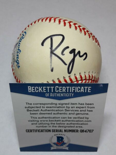 ACTOR TALK  GAME SHOW HOST REGIS PHILBIN SIGNED BASEBALL BECKETT BAS