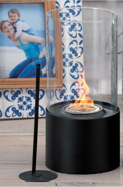 JHY Design Tabletop Fire Bowl PotIndoorOutdoor Portable Tabletop Fireplace