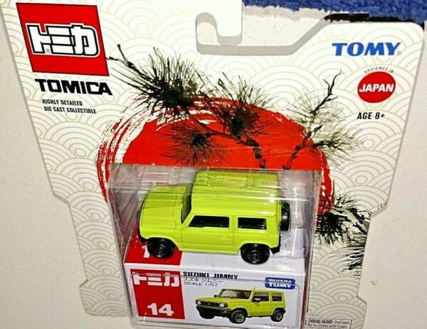 TOMY TOMICA ONLY AT WALMART 1 57 DIE CAST GREEN SUZUKI JIMNY HIGHLY DETAILED NEW