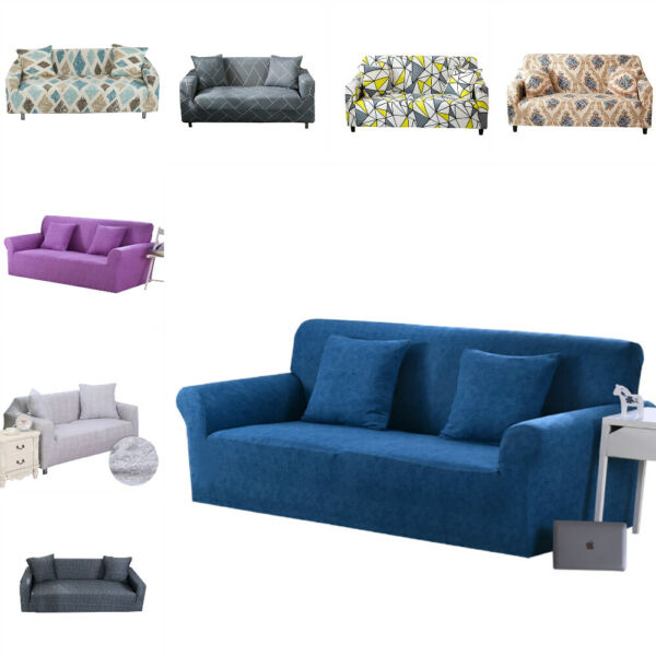 Elastic 1234 Seater Slipcover Sofa Cover 3 4 Sweater Soft Couch Cover Decor