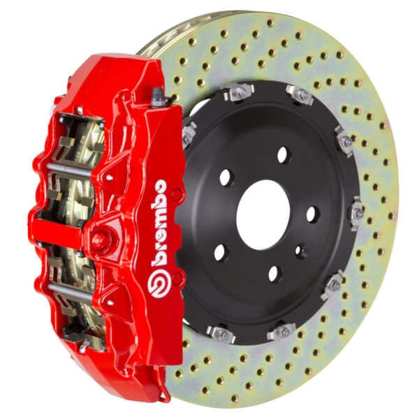 Brembo GT BBK for 00-06 1500 Silverado  Tahoe  Front 8pot Red 1G1.9001A2