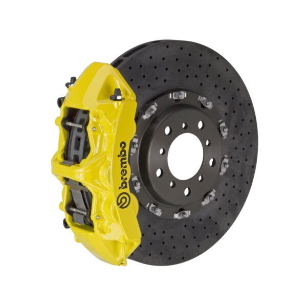 Brembo CCMR BBK for 00-04 360 Modena Excl. Challenge Rear 6pot Yellow 2L9.9001A5