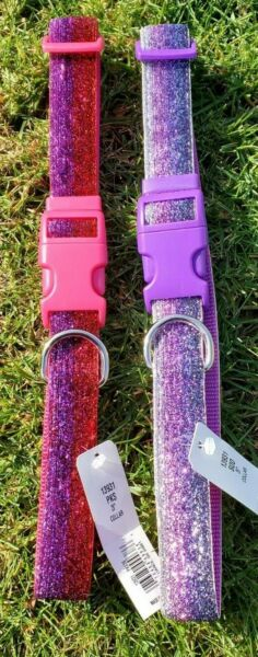 Sparkling Dog Collars In 2 Color Choices 26quot; $9.99