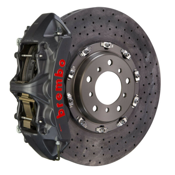 Brembo CCMR GT-S BBK for 14-18 A45 AMG W176 Front 6pot Hard Anodized 1L9.9012AS