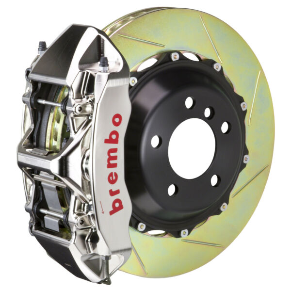 Brembo GT-R BBK for 15-19 WRX Excl. Models w  Front 6pot Nickel 1M2.8039AR