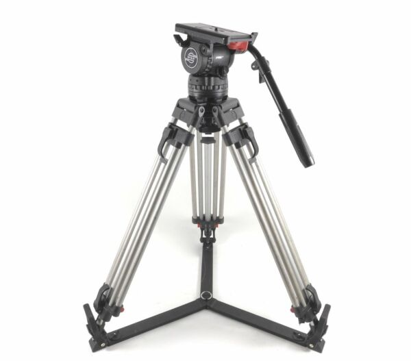 Sachtler Video DV 12 SB Fluid Head Aluminum Tripod 12SB DV12SB 100mm - 2-30