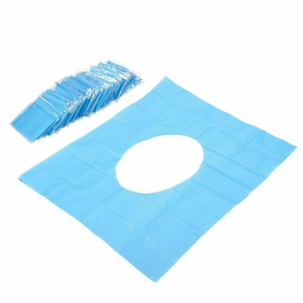50 Disposable Waterproof Paper Toilet Seat Covers Fits Over Standard Size Seat $10.99