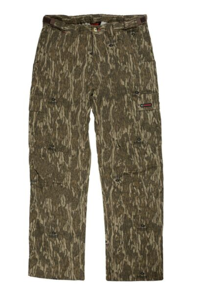 Mossy Oak Cotton Mill 2.0 Camo Hunting Pants for Men Camouflage Clothes