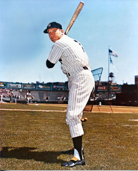 Mickey Mantle 8x10 Photo